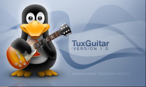 TuxGuitar: Reproductor y editor multipista de partituras